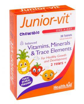 Health Aid Junior Vit Tablets 30tabs