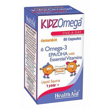Health Aid Kidz Omega 60 chewable caps