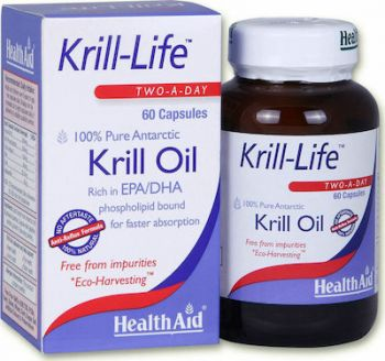 Health Aid Krill-Life Oil 500mg 60 caps