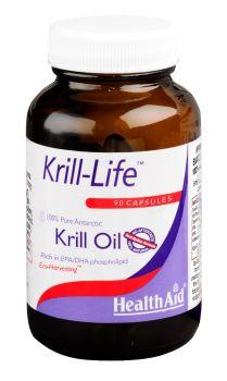 Health Aid Krill-Life Oil 500mg 90caps
