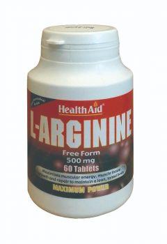 Health Aid L-Arginine 500mg 60 tabs