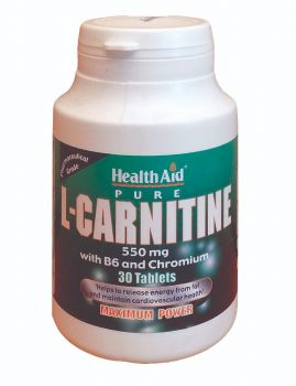 Health Aid L-Carnitine 550mg 30 tabs