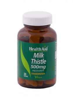 Health Aid Milk Thistle Extract 500mg 30tabs
