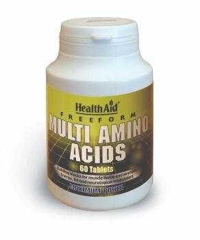Health Aid Multi Amino Acids 60 Tabs