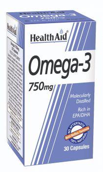 Health Aid Omega 3 750mg 30caps