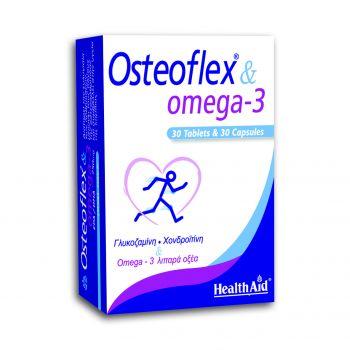 Health Aid Osteoflex & Omega-3 30Tabs+30Caps