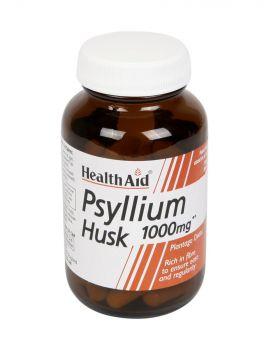 Health Aid Psyllium 1000mg 60caps