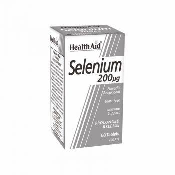 Health Aid Selenium 200μg 60tabs