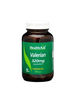 Health Aid Valerian 320mg 60 Tabs
