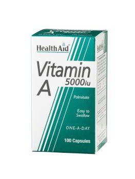 Health Aid Vitamin A 5000iu 100caps
