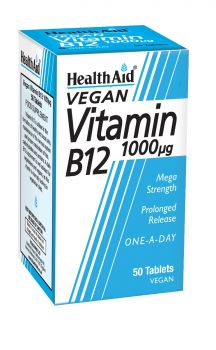Health Aid Vitamin B12 1000μg 50tabs