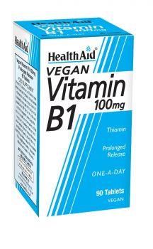 Health Aid Vitamin B1 100mg 90 tabs