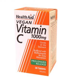 Health Aid Vitamin C 1000 mg prolonged release 30 tabs