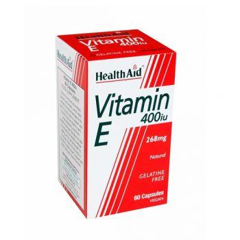 Health Aid Vitamin E 400IU 60 caps