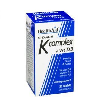 Health Aid Vitamin K + D3 30tabs