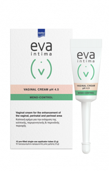 Intermed Eva Intima Vaginal Cream pH4.5 Meno-Control 10x5g - Κρέμα Ανάπλασης Της Κολπικής Περιοχής