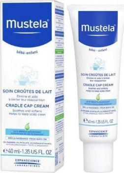 Mustela Cradle Cap Cream Κρέμα για τη Νινίδα 40ml