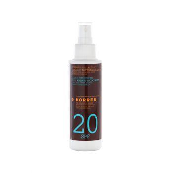 Korres-Διαφανο-Αντηλιακο-Σπρέι-Σωματος-Spf-20-Clear-Sunscreen-Body-150-Ml