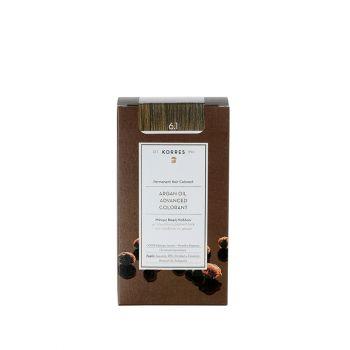 Korres-Βαφη-Μαλλιων-Argan-Oil-6.1-Ξανθο-Σκουρο-Σαντρε