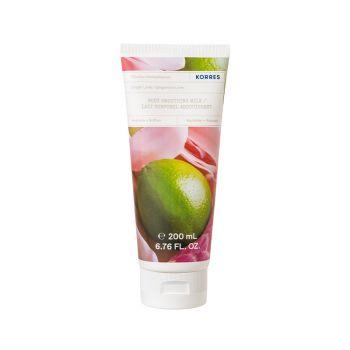 Korres Body Milk Ginger Lime Ενυδατικό Γαλάκτωμα Σώματος με Άρωμα Μοσχολέμονο και Νότες Πικάντικου Τζίντζερ 200ml