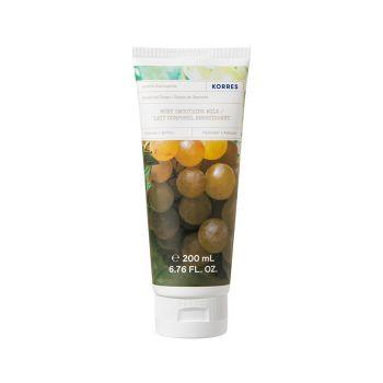 Korres Body Milk Santorini Vine Ενυδατικό Γαλάκτωμα Σώματος με Άρωμα Αμπέλι Σαντορίνης 200ml