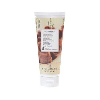 Korres Body Milk Vanilla Cinnamon Ενυδατικό Γαλάκτωμα Σώματος Βανίλια-Κανέλα 200ml