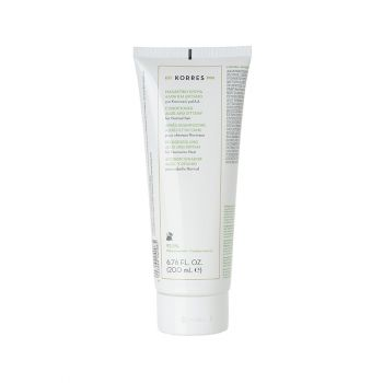 Korres Conditioner Aloe and Dittany for Normal Hair Conditioner Μαλακτική Κρέμα Αλοή & Δίκταμο για Κανονικά Μαλλιά, 200ml