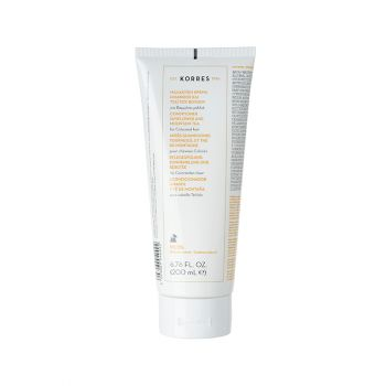 Korres Conditioner for Coloured Hair Μαλλακτική Κρέμα για Βαμμένα Μαλλιά με Ηλίαθο & Τσάι του Βουνού 200ml