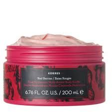 Korres Dual Hyaluronic Multi Actionbody Souffle Red Berries Βαθιά Ενυδάτωση Σώματος με Άρωμα Βατόμουρο 200ml