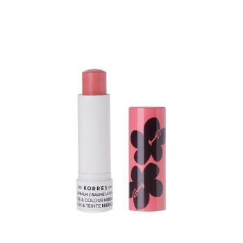 Korres Extra Care Lipbalm Care & Colour Hibiscus Stick με Ιβίσκο 5ml