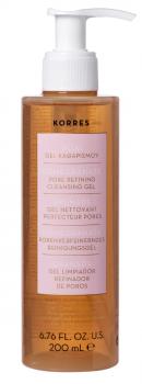 Korres Ρόδι Gel Καθαρισμού Προσώπου Για Λιπαρές Μεικτές Επιδερμίδες 200ml