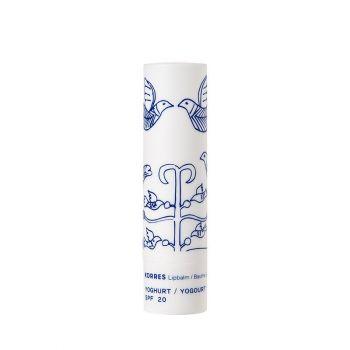 Korres Lip Balm Yoghurt SPF20 Ενυδατική Φροντίδα για τα Χείλη Γιαούρτι με Αντιηλιακή Προστασία, 4.5g