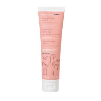 Korres Κρέμα Αλλαγής Πάνας Nappy Change Cream Coconut & Almond 150ml
