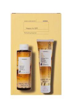 Korres Promo Happy Gift 1+1 Citrus Αφρόλουτρο Κίτρο 250ml & Γαλάκτωμα Σώματος 125ml