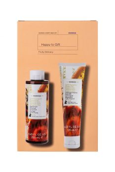 Korres Promo Happy Gift 1+1 Bergamot Pear Αφρόλουτρο Αχλάδι-Περγαμοντο 250ml & Γαλάκτωμα Σώματος 125ml