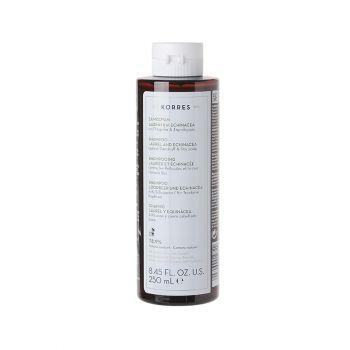 Korres Shampoo Echinacea & laurel Against Dandruff and Dry Sculp Σαμπουαν Για Πιτυρίδα Και Ξηροδερμία Δαφνη Και Εχινάτσια 250ml