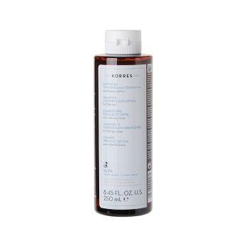 Korres Shampoo Liquorice and Urtica for Oily Hair Σαμπουάν για Λιπαρά Μαλλιά με Γλυκύρριζα & Τσουκνίδα 250ml