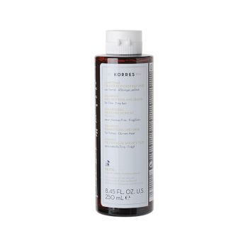Korres Shampoo Rice  Proteins and Linden for Thin Hair Σαμπουάν για Λεπτά & Αδύναμα με Πρωτεΐνες Ρυζιού & Τίλιο 250ml