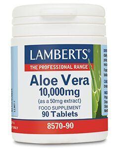 Lamberts Aloe Vera high strength 10.000mg 90tabs