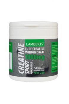 Lamberts Creatine 1000 Mg 250Tabs