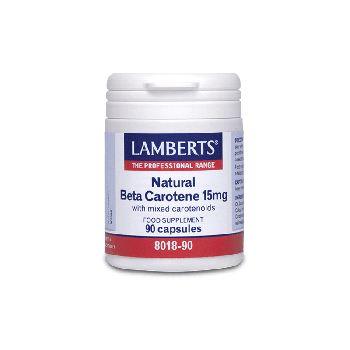 Lamberts Natural Beta Carotene 15mg 90caps