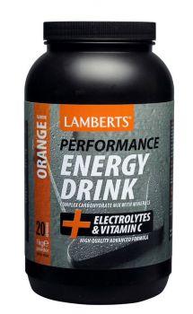 Lamberts Performance Energy Drink Orange 1000Gr
