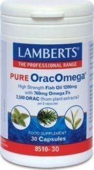 Lamberts Pure OracOmega 30 caps