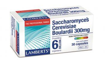 Lamberts Saccharomyces Cerevisiae Boulardii 300 mg 30caps