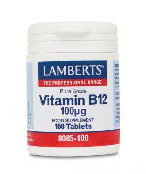 Lamberts Vitamin B12 100mcg 100tabs