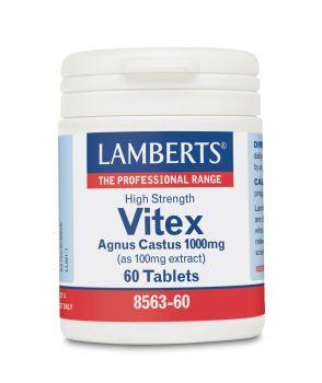 Lamberts Vitex Agnus Castus 1000mg 60tabs