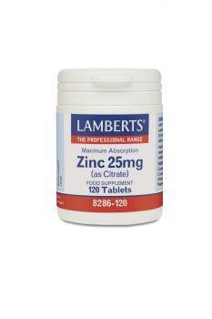 Lamberts Zinc 25Mg 120Tabs
