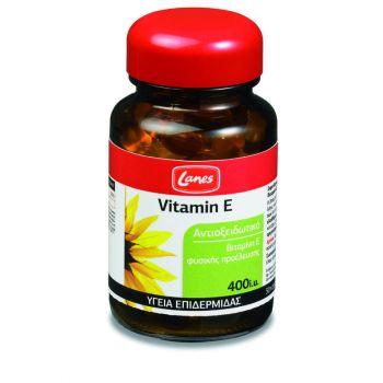 Lanes-Συμπλήρωμα-Διατροφής-Με-Βιταμίνη-Ε-Vitamin-E-400iu-30caps
