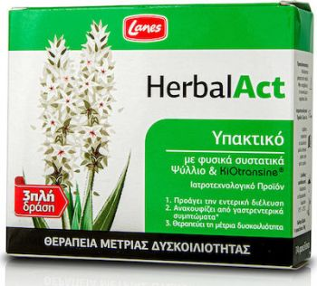 Lanes HerbalAct Προάγει Tην Εντερική Διέλευση 14 φακελίσκοι