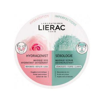 Lierac Duo Masks Hydragenist & Sebologie 2x6ml
